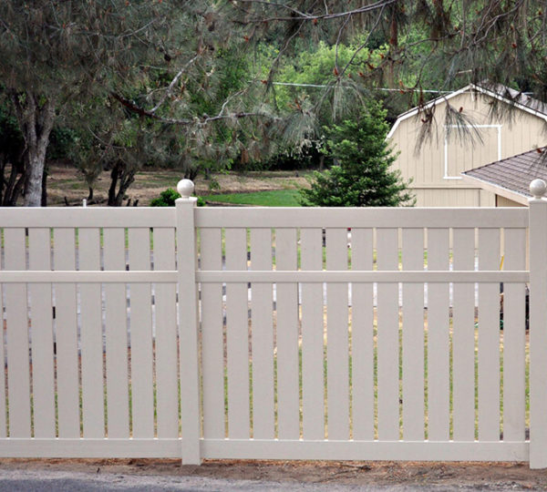 5' Charlestown Semi-Privacy Fence-595