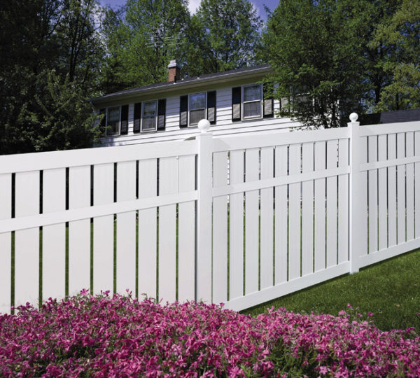 4' Charlestown Semi-Privacy Fence-591