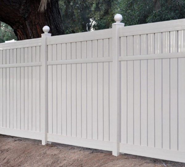 4' Charlestown Semi-Privacy Fence-594