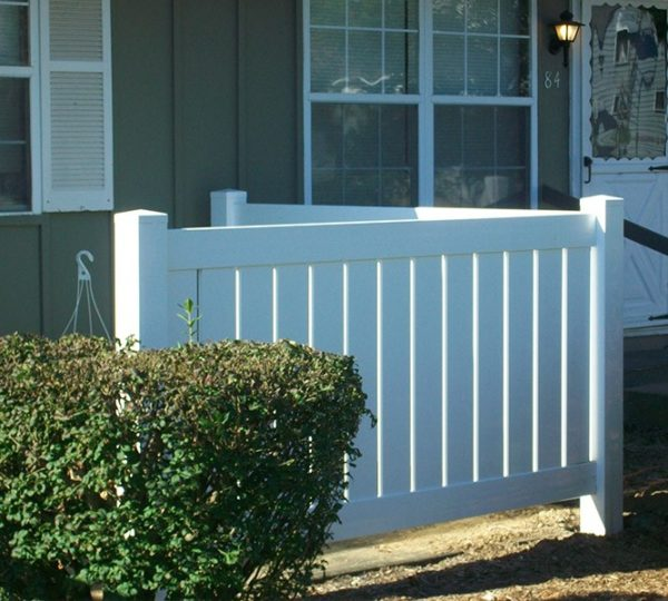 5' Charlestown Semi-Privacy Fence-598