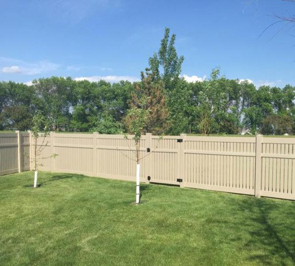 4' Chesapeake Semi-Privacy Fence-546
