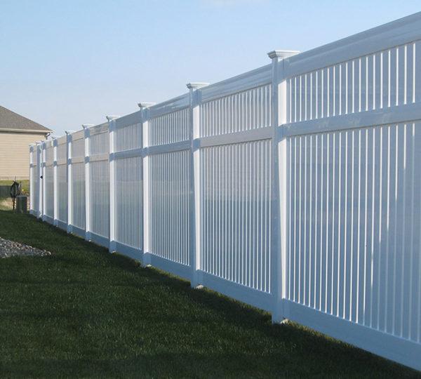 4' Chesapeake Semi-Privacy Fence-545