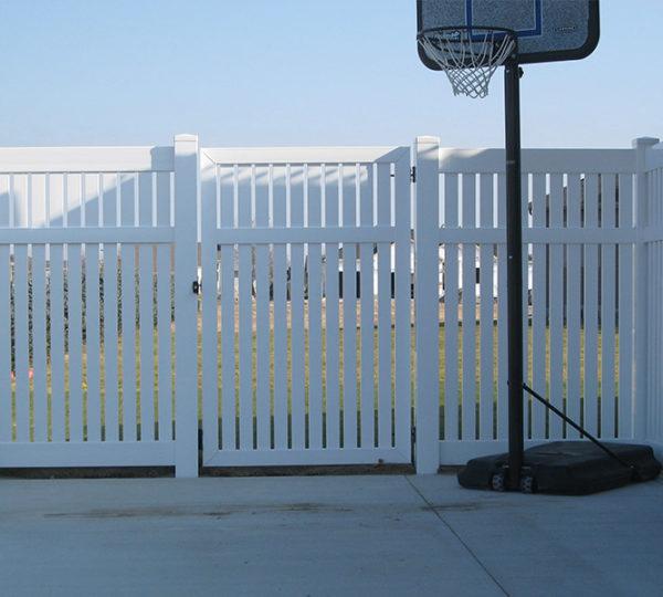5' Chesapeake Semi-Privacy Fence-541