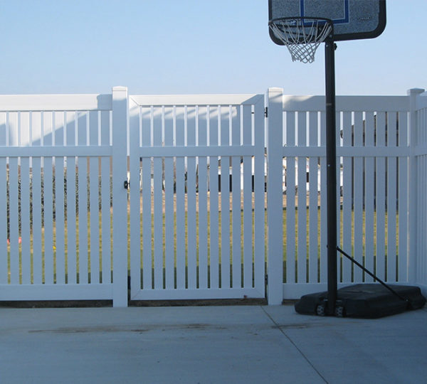 4' Chesapeake Semi-Privacy Fence-544