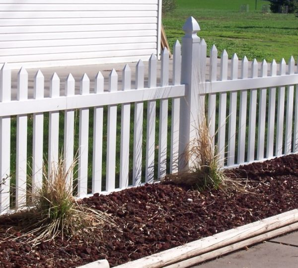 3' Courtyard Picket Fence-498