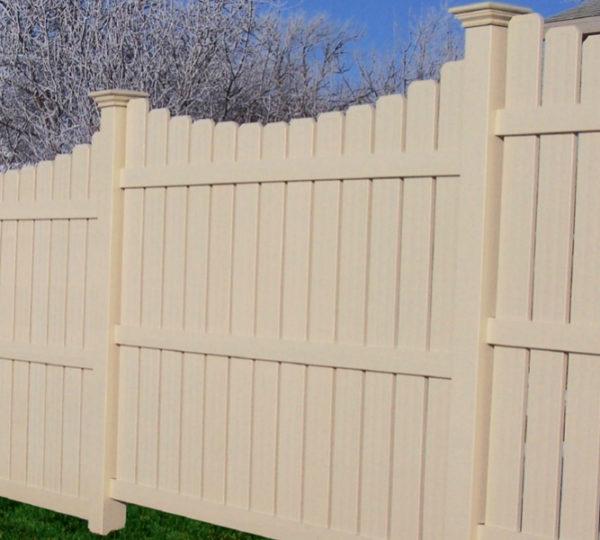 4' Terrace Semi-Privacy Fence-129