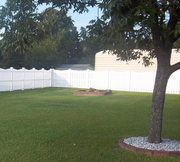 4' Terrace Semi-Privacy Fence-556