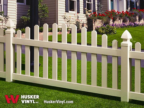 3' Sierra Picket Fence-0