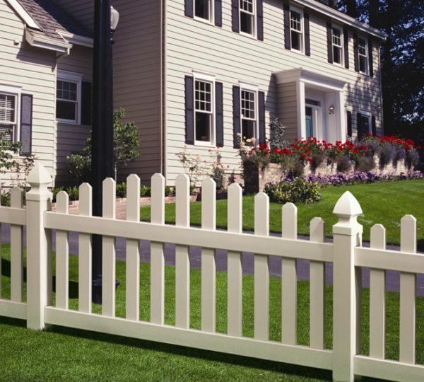 4' Sierra Picket Fence-0