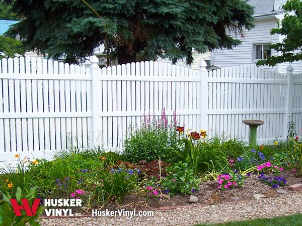 4' Homestead Semi-Privacy Fence-0