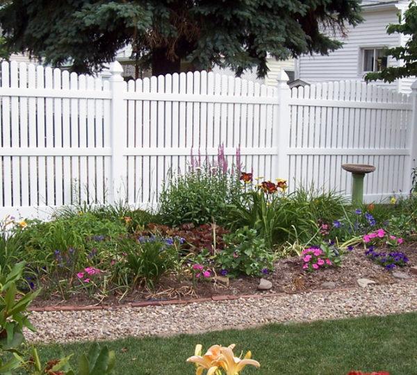 6' Homestead Semi-Privacy Fence-0