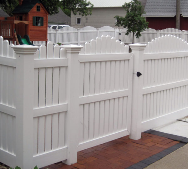 6' Homestead Semi-Privacy Fence-254