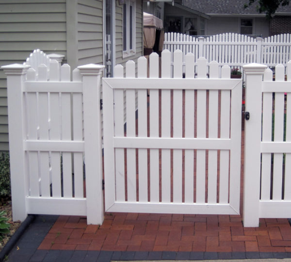 5' Homestead Semi-Privacy Fence-244