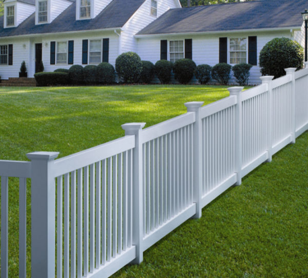 4' Lincoln Picket Fence-0