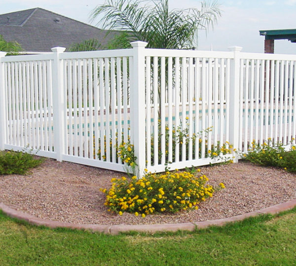 4' Lincoln Picket Fence-299