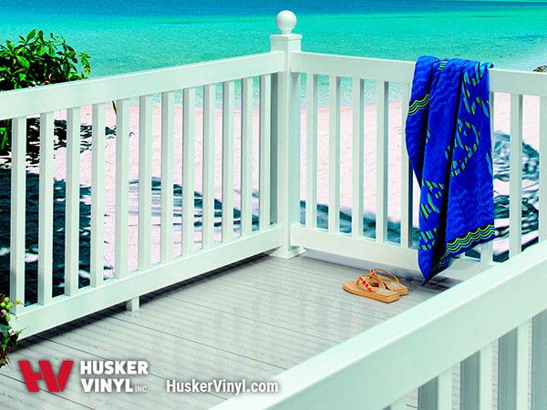 Porch Deck Railing - Square Railing
