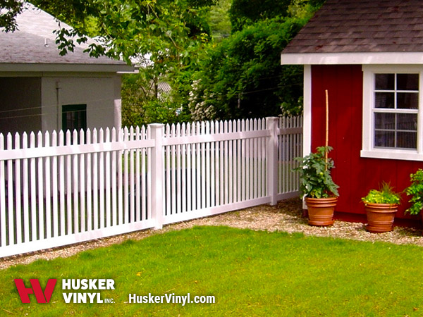 3' Aspen Picket Fence-210