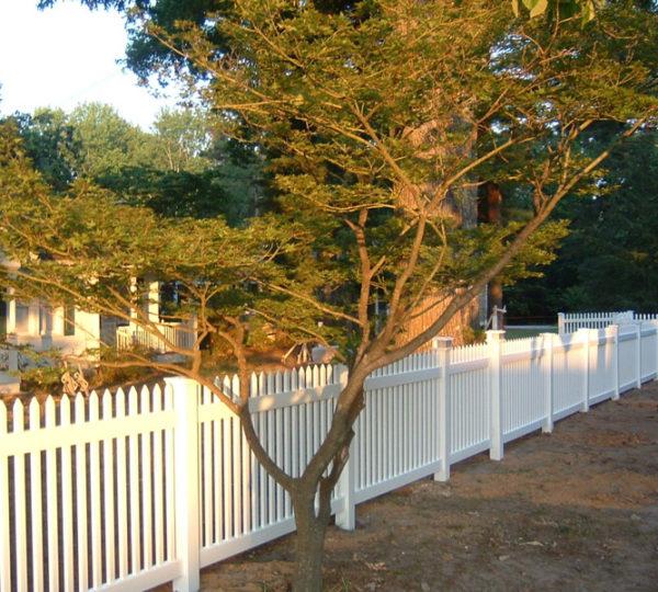3.5' Aspen Picket Fence-508