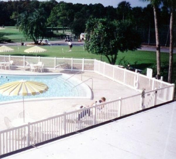 4' Pool Picket Fence-183