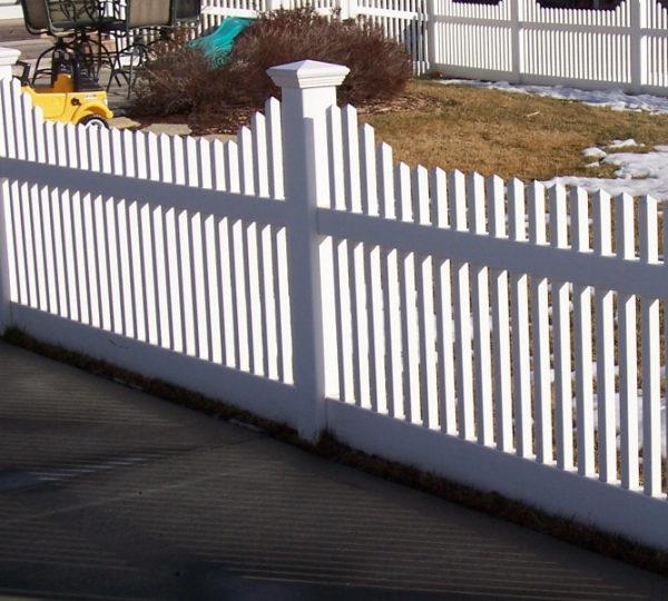 5' Cascade Picket Fence-0