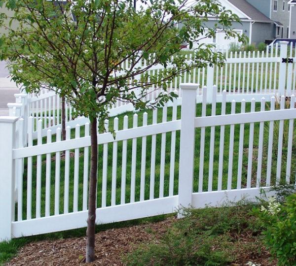 4' Cascade Picket Fence-200