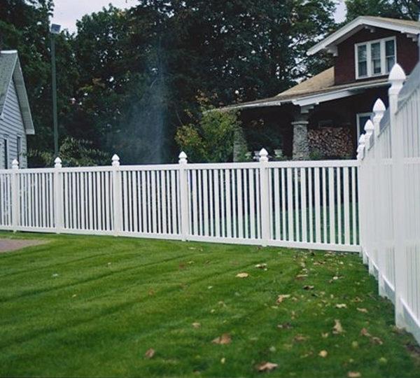 3.5' Springdale Picket Fence-487