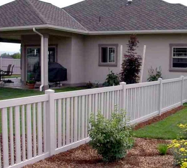 3.5' Springdale Picket Fence-0