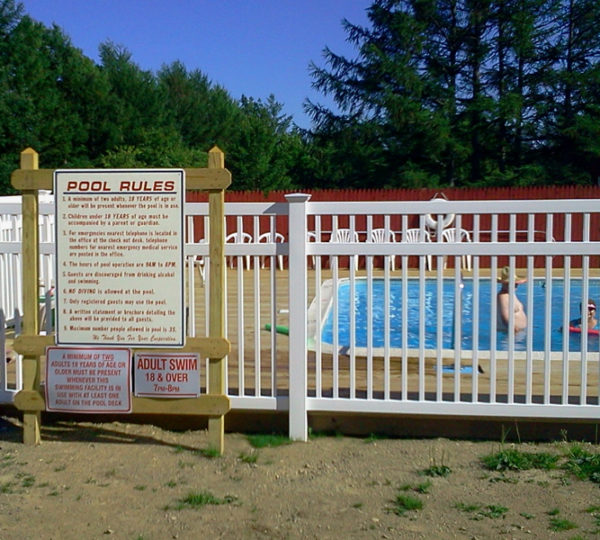 6' Pool Picket Fence-192