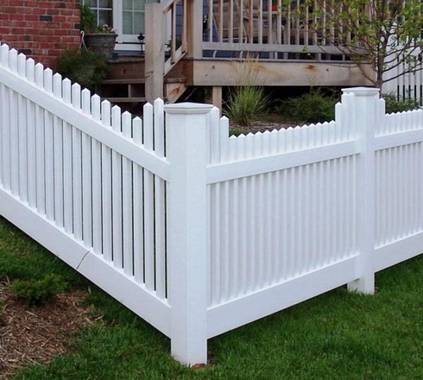 4' Cascade Picket Fence-202